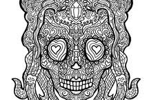 Antistress Skulls