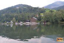 Lacul Zell din Zell am See / Lacul Zell din Zell am See