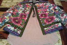 chaqueta flores Asos