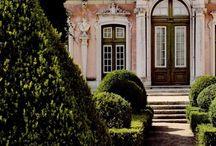 {Beautiful Old Houses and Buildings} / by Shandy Burton ♞ Morgan de Grey