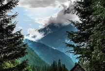Mountain gunung
