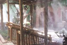 Cooling Outdoors / Photos of patio cooling with a #misting system