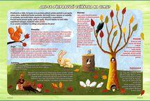 Podzim ve školce