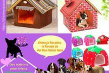 Corbeilles et paniers pour chiens / Dans ce tableau, vous trouverez des images ou vidéos des corbeilles et paniers pour chiens disponibles sur la Boutique d'accessoires pour chien Chimey's Paradise.