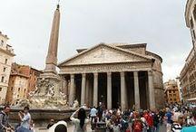 #PANTEÓN DE AGRIPA (ROMA) / El Panteón de Agripa símbolo de homenaje a los dioses y al mismo tiempo lugar de culto para los humanos. Se conserva casi intacto.