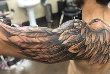 Tatuagem Águia Ombro