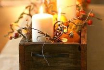 Fall decorations / by Leslie Spano
