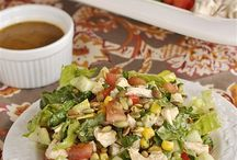 Salads / Healthy / by Sandra Grover