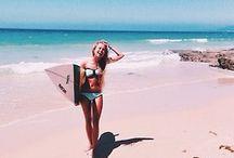 The Beach / sun on my skin - salt in the air - sand in my hair