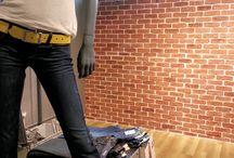 Wandgestaltung mit Ziegelsteinoptik / Hier finden Sie Bilder von Projekten die mit der Kunststeinpaneele Bronx, Manhatten oder Brooklyn sowie Ziegelstein Riemchen realisiert worden sind
