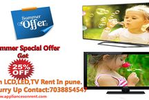 LCD LED TV on Rent Pune