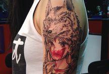 tattoo ghibli