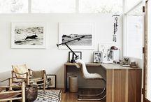 Workspace / Workspace, office, desk, creative, simple, minimal, scandinavian