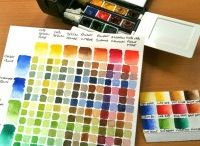 Watercolour Tips & Tricks / Watercolour painting tips from my blog (watercolor)