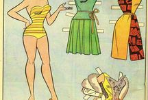 Paper Dolls and fashion