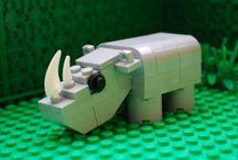 A LEGO dieren