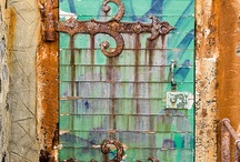 Doorways & Gateways / Beautiful, colorful, mysterious, wonderful door and gate ways~