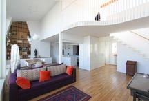 Mezzanine / Les plus belles mezzanines réalisées par l'agence d'architecture Studio d'Archi pour des rénovations d'appartements à Paris.