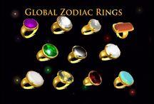 zodiac rings