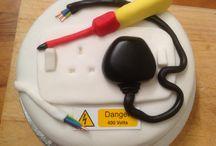 bolo temático engenharia Eletricista