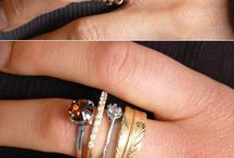 style fave: STACKING RINGS