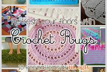 Rugs: crochet or other  O[]O[]O