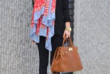 Scarf Style / Great easy weekend summer looks
