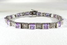 VJSE Team-February - Vintage Amethyst Jewelry / Beautiful vintage jewelry for February birthdays from the Vintage Jewelry Sellers Team on Etsy.
