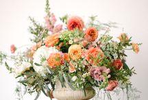 Floral art design