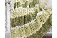 Crochet ~ Afghan Ideas To Make