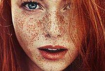* redhead & freckles *