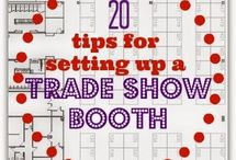 Trade Show Ideas / Trade shows are a huge part of our business, as they should be in yours! Get the newest and most innovative tips and ideas to use for your trade show