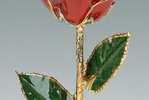 Mother's Day Gifts / A variety of natural leaves and flowers dipped in 24k gold and platinum that will last forever