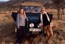 Safari Chic / Kenya was one of the most amazing experiences I have ever had. The epic beauty of all the unspoiled nature and being amongst the wild animals made every day an adventure. Zebras, Elephants and Cheetahs roamed around our tents totally wild!