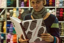 Yarn by the winter fire / Knitting and crocheting books in our collection