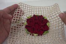 vídeo de croché  flor