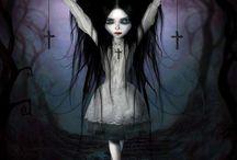 Goth Girl cartoons