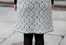 tricoter des jupes, knitting skirts / tricot , knitting