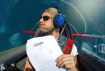 Aerobatic airplanes
