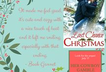Road to Romance / My three book series for Tule Publishing includes: Last Chance Christmas Second Chance Cowboy  A Chance This Christmas