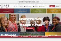 Divi Education website examples