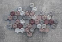 Edgy / Contemporary tile design by Patrycja Domanska and Tanja Lightfoot