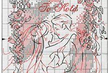 wzorki ślubne
