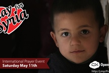 Pray for Syria / Christians in Syria have asked that believers around the world join with them for a day of prayer and fasting for Syria on May 11th. We will have hourly prayer points on Facebook and Twitter. Thank you for being One With Them in prayer! http://www.worldwatchlist.us/pray-syria/