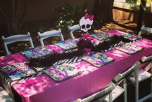 Monster high/mini pamper party