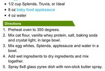 Protein Bars/Cookies/Brownies / Protein treats  / by Kristen Pepi