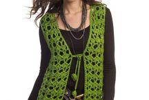 Bolero,vest,crochet