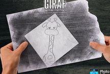 GIRAF / Leuk om te tekenen!✏️
