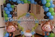 Monkey Baby Shower / Monkey Arch