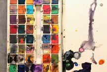 Colour my world / Colour pallets, colour schemes for interior decor. Colourful images that inspire me.